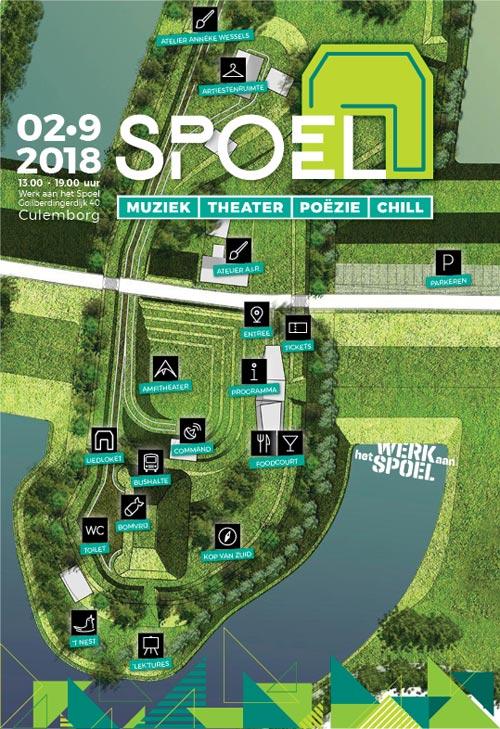 SPOEL festival 2018_Plattegrond